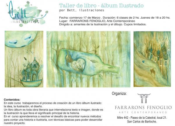 Avisos Clasificados Taller De Libro Album Ilustrado De Bett